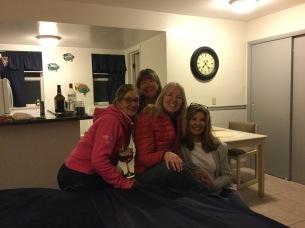 Jennifer, Linda, Sandy and Lonnie