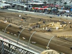Flat track race.