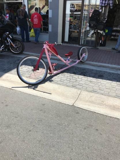 Bike on Main Street