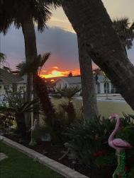 Last night sunset.